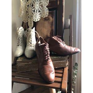 Vintage-Victorian Lace-up loafer-boots-bundle